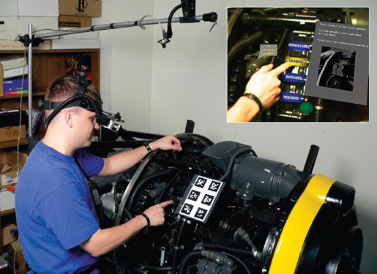 Augmented Reality For Maintenance And Repair Armar Are